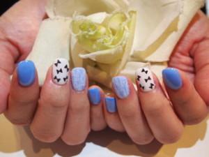 ☆30日☆ブルー系Nail&キラキラNail☆