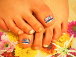 ☆25日☆キラキラストーン&Foot Nail☆