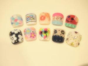 ☆9日☆FOOTネイル☆