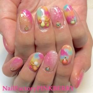 カラフルSummer Nail☆