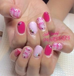 ピンクNail♪