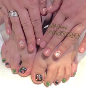 HAND&FOOTネイル☆