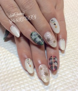 雪の結晶Nail☆