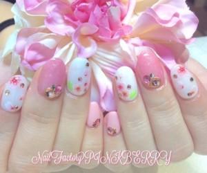 桜ネイル♪