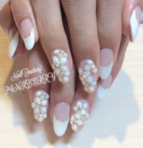 French × flower Nail♪