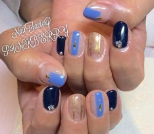 Blue Nail♪