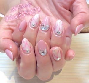 大理石nail♪