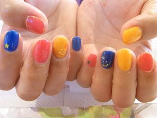 ☆18日☆カラフル Nail☆