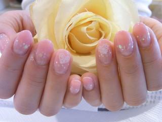 ☆22日☆愛され系♪なピンクネイル☆