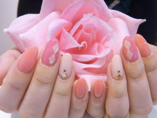 ☆23日☆ピンクネイル2☆