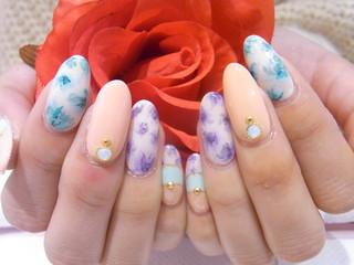 ☆7日☆お花アートで春気分♪☆