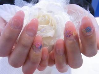 ☆30日☆お花Nail☆