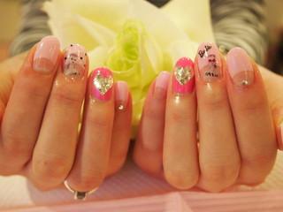 ☆26日☆ピンクネイル☆