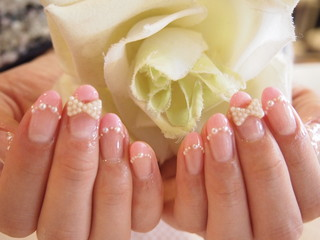 ☆23日☆Happy Wedding Nail☆