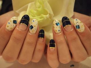 ☆11日☆ブルー系Nail☆