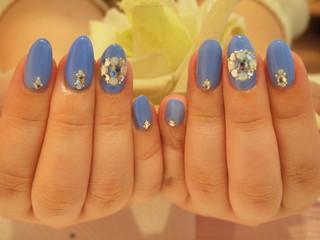 ☆18日☆ブルーな気分★ジェルNail☆