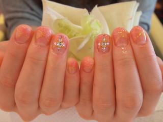☆3日☆ピンク&赤系Nail☆