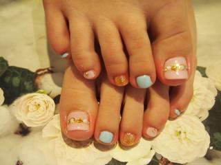 ☆21日☆キャンディーストーンnail&FOOTnail☆